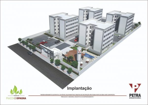 Residencial Piazza di Spagna - Perspectiva